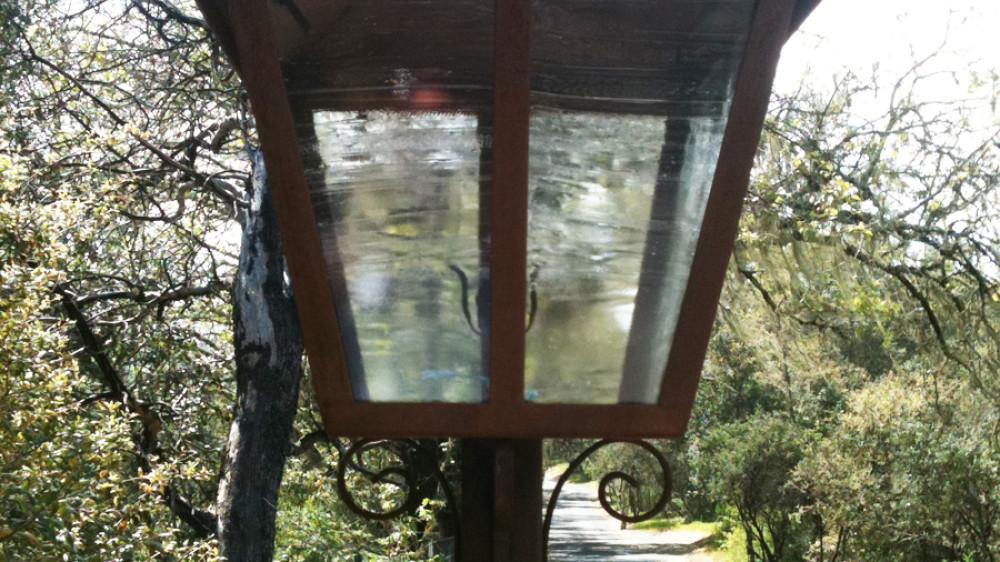 Wrought Iron Light [009]