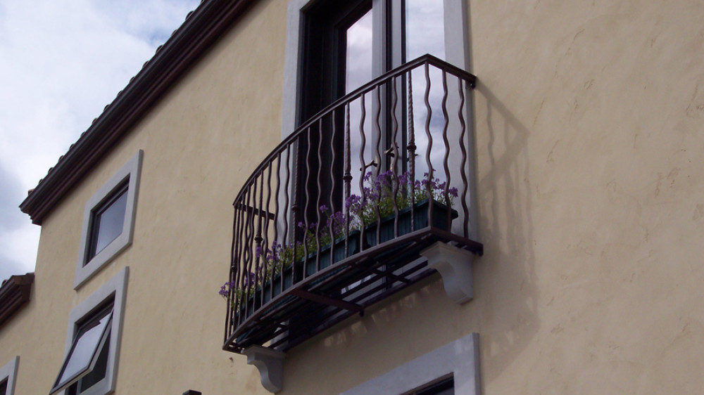 Modern Juliet Balcony [065]