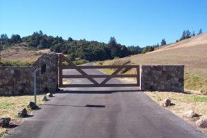Single Driveway Gate – 011