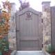 Wood Fence Gate – 001