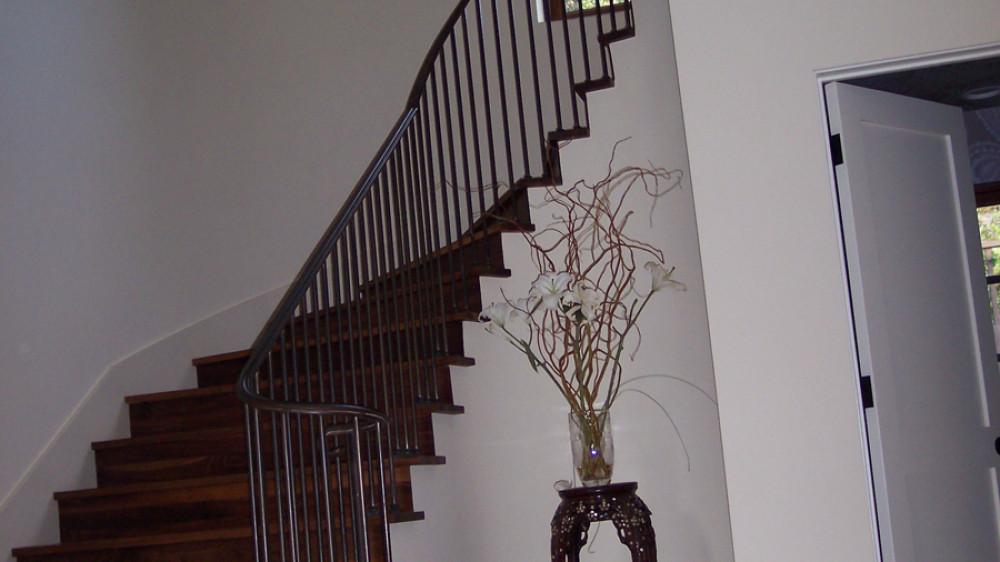 Custom Interior Staircase [046]
