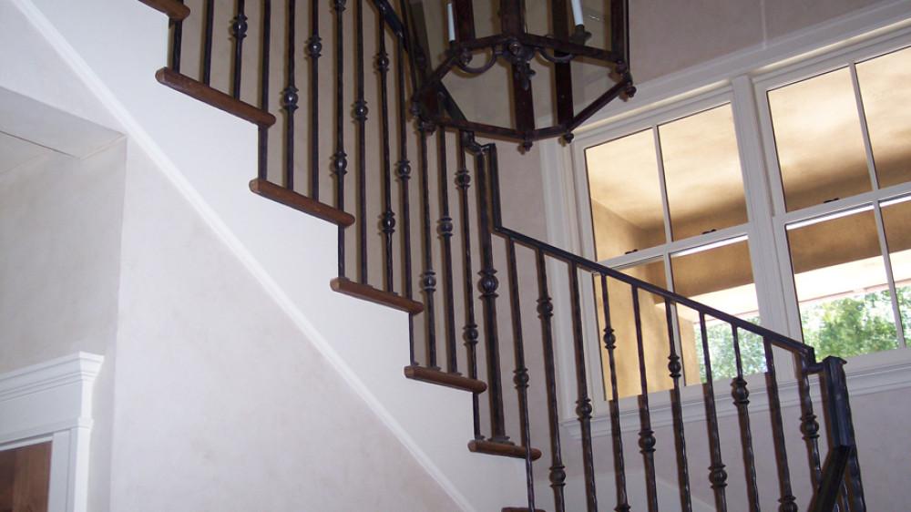 Interior Iron Railings [050]
