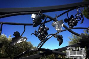 Custom Wrought Grape Clusters