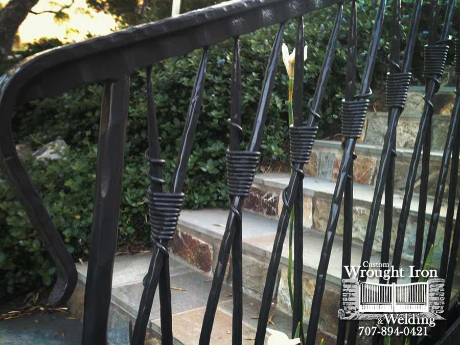 Custom Exterior Handrail