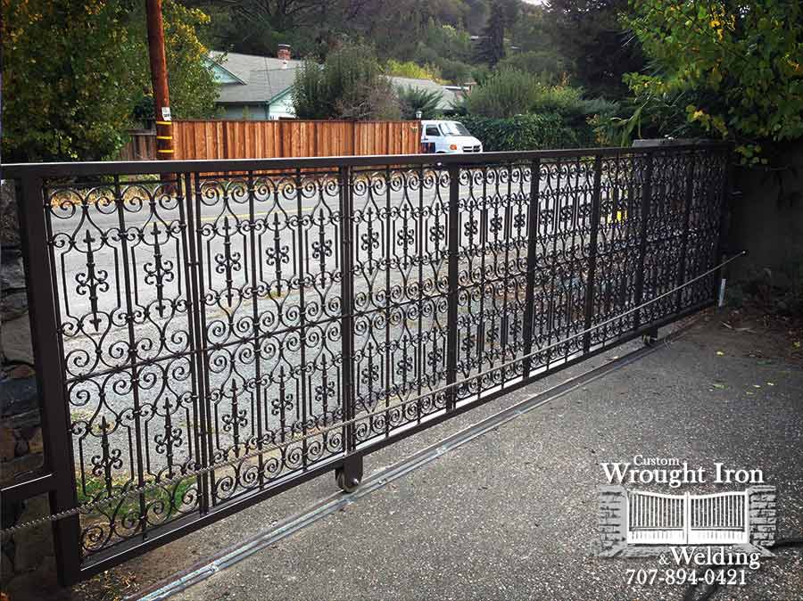Marin County residential gate