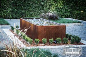 Custom Corten Steel Fountain