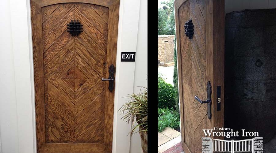 Steel Door with White Oak Overlay [134]