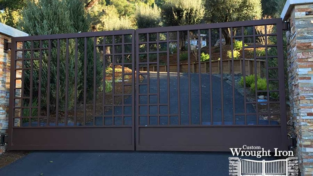 Wrought Iron Cloverdale Gate [138]