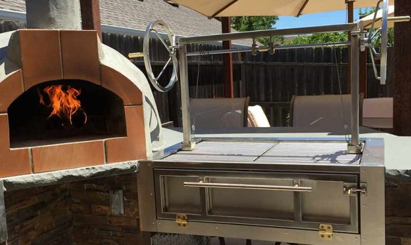 BBQ Grill by Custom Wrought Iron & Welding