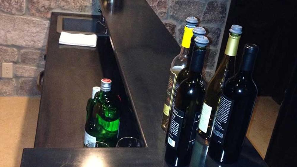 Kachina Winery Counter
