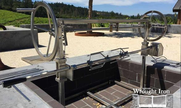 Sonoma County Stainless Steel BBQ