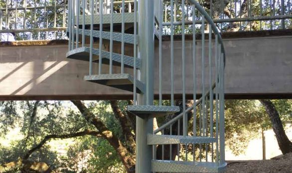 Sonoma County Staircase