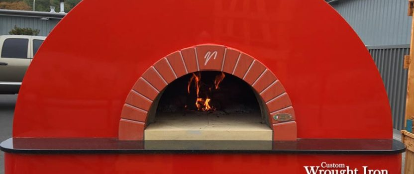 Barrel Roll Mugnaini Pizza Oven